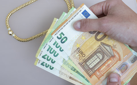Sofort Bargeld für Wertsachen